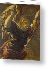 Angel From The Annunciation To The Virgin Greeting Card