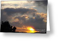 Angel In The Sunrise Greeting Card