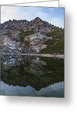 Angel Lake 3 Greeting Card