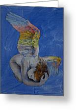 Angel Greeting Card by Michael Creese