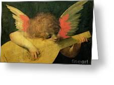 Angel Musician Greeting Card