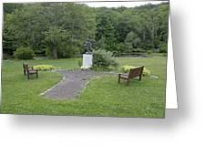 Angel Of Hope At The Putnam County Veteran Memorial Park Greeting Card
