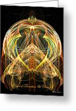 Angel Of Transformation And Change Greeting Card