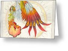 Angel Phoenix Greeting Card