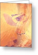 Angel Time  Greeting Card