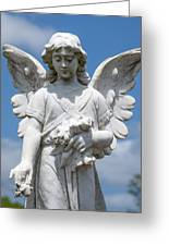 Angel Tombstone Series Greeting Card