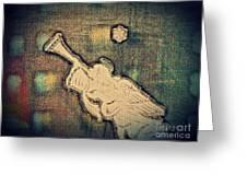 Angel Trumpeter Greeting Card
