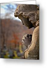 Angel Watching Over Greeting Card