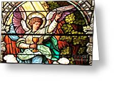 Angel With A Chalice Greeting Card