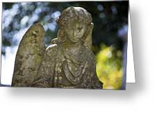 Angel With Broken Arm II Cave Hill Cemetery Louisville Kentucky  Greeting Card