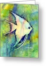 Angelfish I Greeting Card