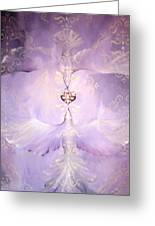 Angelic Cropped Version Greeting Card