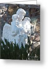 Angelic Motherhood Greeting Card