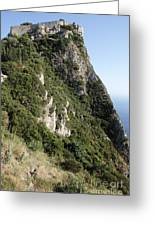 Angelo Castle Corfu Greece Greeting Card