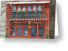 Angelo's On 57th Street Greeting Card