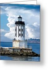 Angel's Gate Lighthouse Greeting Card