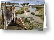 Angels- His Spirit Will Comfort You Greeting Card