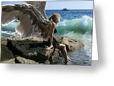 Angels- I'm Watching Over You Greeting Card