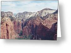 Angel's Landing Greeting Card
