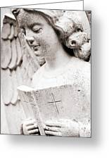 Angels Prayers And Miracles Greeting Card