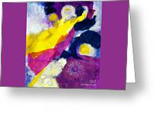 Angels Surround Me Greeting Card
