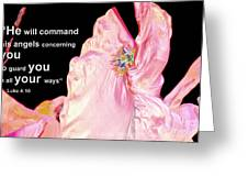 Angels Will Guard You Greeting Card
