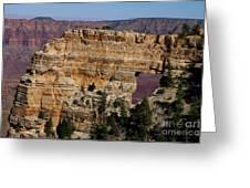 Angel's Window At Cape Royal Grand Canyon Greeting Card