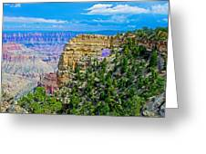 Angel's Window At Cape Royal On North Rim Of Grand Canyon-arizona Greeting Card