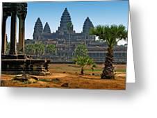 Angkor Afternoon Greeting Card