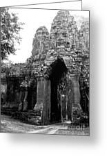 Angkor Thom East Gate 01 Greeting Card