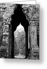 Angkor Thom East Gate 03 Greeting Card