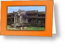 Angkor Wat Cambodia 1 Greeting Card