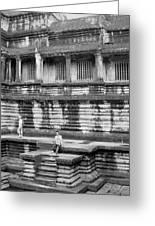 Angkor Wat Cambodia 3 Greeting Card