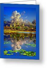 Angkor Wat Just Before Sunset Greeting Card