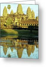 Angkor Wat Reflections 02 Greeting Card