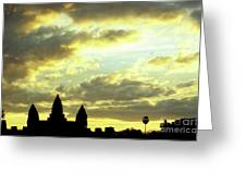 Angkor Wat Sunrise 03 Greeting Card