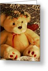 Angle Bear  Greeting Card