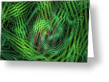 Angle Worms Greeting Card