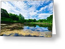 Angrignon Park Landscape 1 Greeting Card