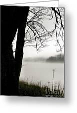 Angular Fog Greeting Card