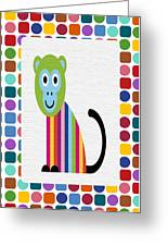 Animals Whimsical 6 Greeting Card