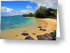 Anini Beach Greeting Card