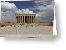 Anitkabir Ankara Turkey Greeting Card