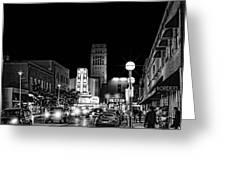 Ann Arbor Nights Greeting Card