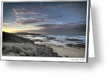 Anna Bay Sunrise Greeting Card by Steve Caldwell