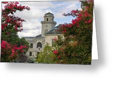 Annapolis Academy Clock Tower Greeting Card