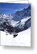 Annapurna Sanctuary Trail Greeting Card