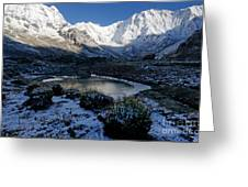 Annapurna Morning Greeting Card