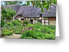 Anne Hathaways Cottage 5975 Greeting Card