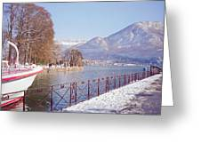 Annecy Fairytale. France Greeting Card